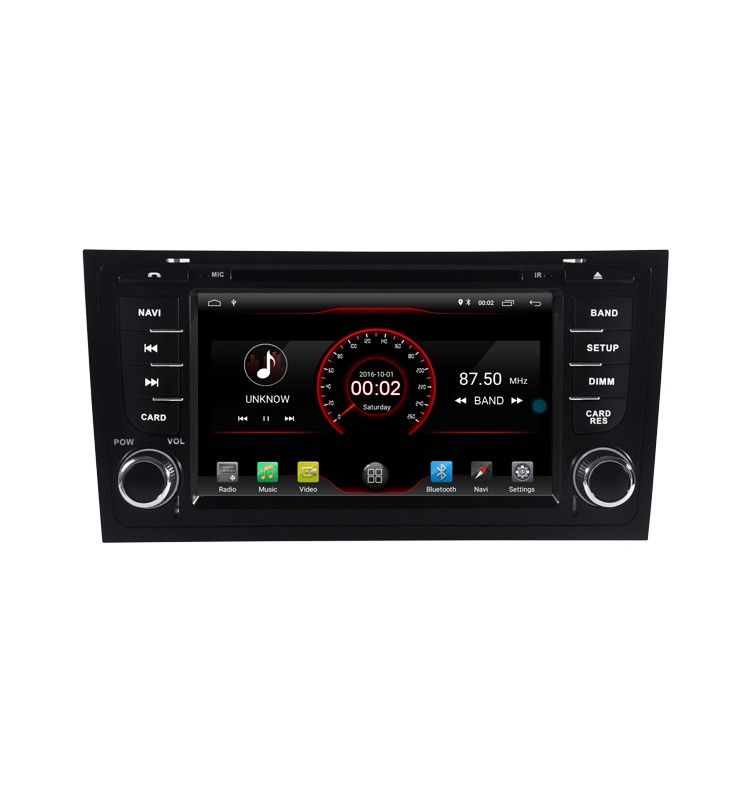 Autoradio ANDROID 8.1 GPS Bluetooth Multimédia AUDI A6, S6, RS6, ALLROAD