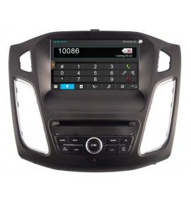 Autoradio S80 GPS Bluetooth Multimédia intégré Ford Focus à partir de 2015
