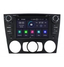 Autoradio GPS Android 9.0 BMW Série 3 E90 E91 E92 E93 2005 à 2012