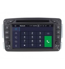 Autoradio GPS Android 9.0 Mercedes classe G classe C VIANO VITO CLK