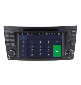Autoradio GPS Bluetooth Android 9.0 Mercedes Classe E W211 et CLS W219