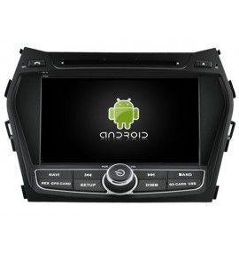 Autoradio GPS Android 9.0 Hyundai IX45 (Santa Fe)