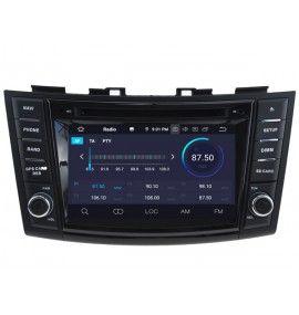 Autoradio GPS Android 9.0 Suzuki Swift depuis 2011