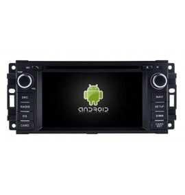Autoradio GPS Android 9.0 Jeep Compass, Commander, Liberty, Patriot