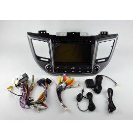 Autoradio GPS Android 9.0 Hyundai Tucson depuis 2015