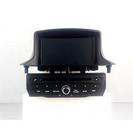 Autoradio GPS Android 9.0 Renault Megane 3 Noir