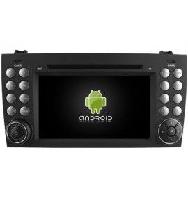 Autoradio GPS Android 9.0 Mercedes Benz SLK 171 de 2004 à 2011