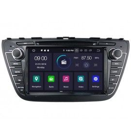 Autoradio Android 9.0 GPS Multimédia intégré Suzuki SX4 S-Cross depuis 2013