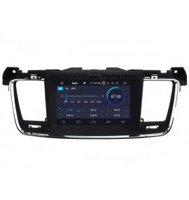 Autoradio Android 9.0 Navigation GPS, Bluetooth Peugeot 508