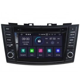 Autoradio GPS Android 9.0 Suzuki Swift depuis 2011