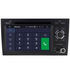 Autoradio GPS Android 9.0 Audi A4 S4 RS4