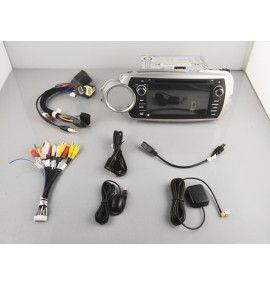 Autoradio ANDROID 9.0 GPS Bluetooth Toyota Yaris de 2012 à 2017