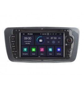 Autoradio GPS ANDROID 9.0 intégré Seat Ibiza depuis 2008