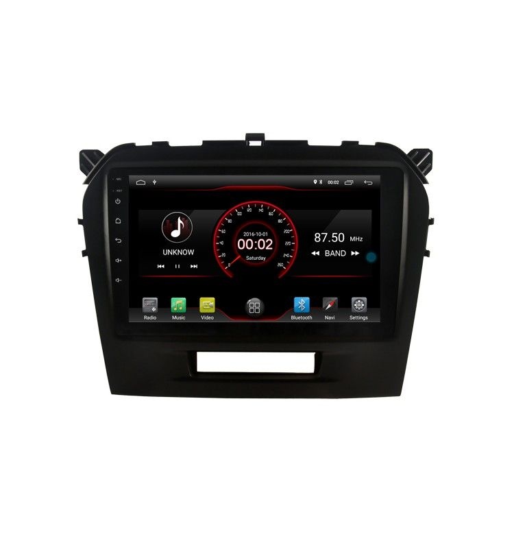 Autoradio Android 9.0 GPS Bluetooth Suzuki Grand Vitara depuis 2015
