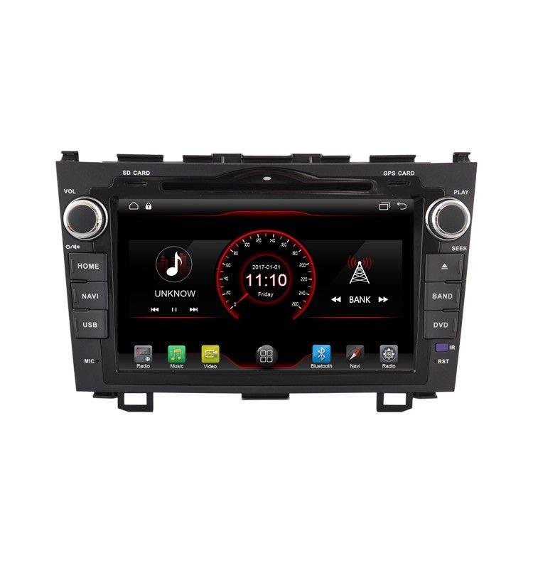 Autoradio GPS Android 10 Honda CR-V 2006 à 2011