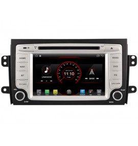 Autoradio Android 10 GPS Bluetooth Fiat Sedici et Suziki SX4 de 2006 à 2012