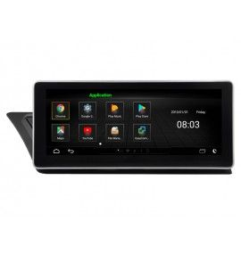 "Autoradio écran 10.2"" GPS Android 8.0 Audi A5 & A4 depuis 2009"