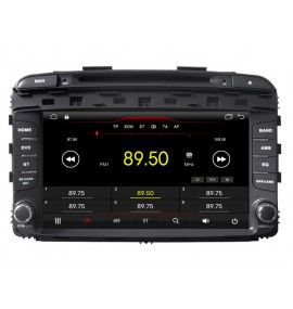 Autoradio GPS Android 10 Bluetooth Kia Sorento depuis 2015