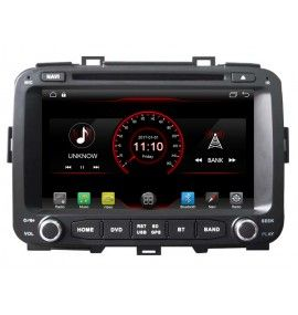 Autoradio GPS Bluetooth Android 10 Kia Carens depuis 2013