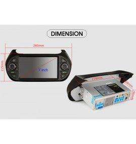 Autoradio Android 9 GPS, Bluetooth Peugeot Bipper, Citroà«n Nemo et Fiat Fiorino