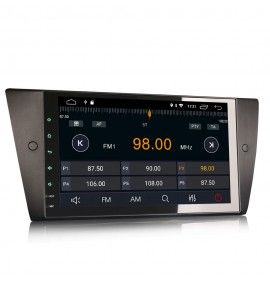 Autoradio GPS Android 9 BMW Série 3 E90 E91 E92 E93 2005 à 2012