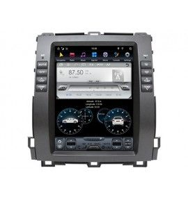 """Autoradio 10.4"""" Android GPS Bluetooth Toyota Land Cruiser / Prado 120 de 2002 à 2009"""