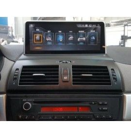 Autoradio GPS Android 9.0 BMW X3 E83 Sans écran GPS d'origine 2004 à 2010