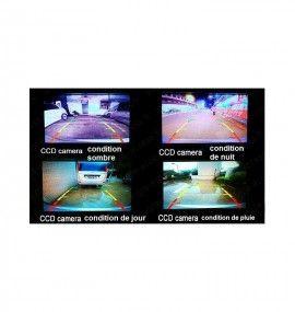 Caméra de recul CCD Toyota Corolla de 2007 à 2012 et Avensis de 2005 à 2009