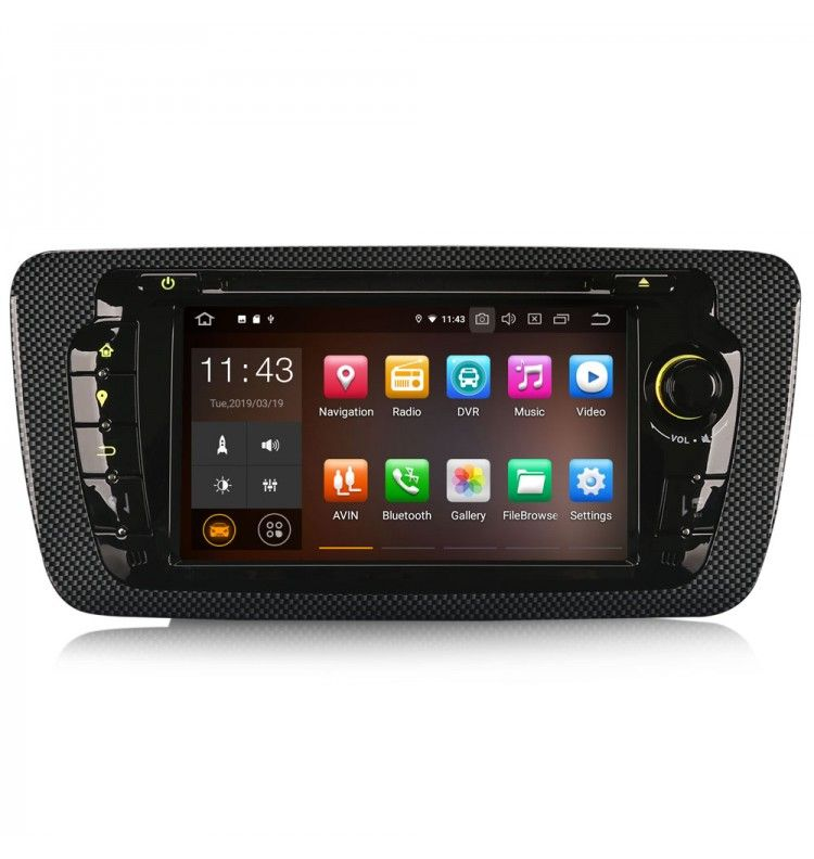 Autoradio GPS Android 9 Seat Ibiza depuis 2008