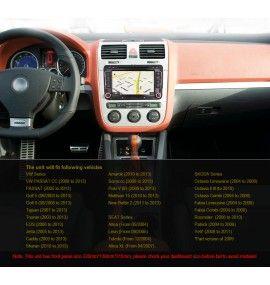 Autoradio GPS Android 9 Volkswagen Golf 5 6, passat, Beetle, Eos Touran T5, Tiguan, Polo, Caddy