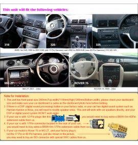 "Autoradio écran 9"" GPS Android 9 BMW E46 Série 3 et M3"
