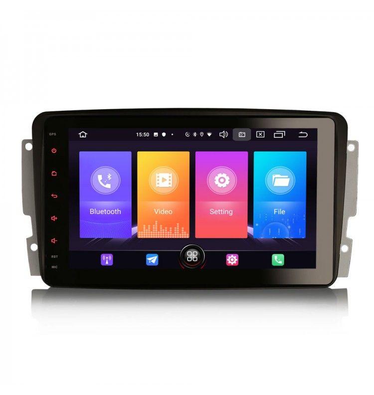 Autoradio GPS Android 10 Mercedes classe G classe C VIANO VITO CLK