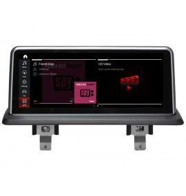Autoradio GPS Android 10 BMW série 1 Sans écran GPS d'origine