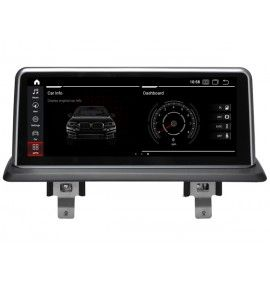 Autoradio GPS Android 10  BMW série 1 avec GPS d'origine