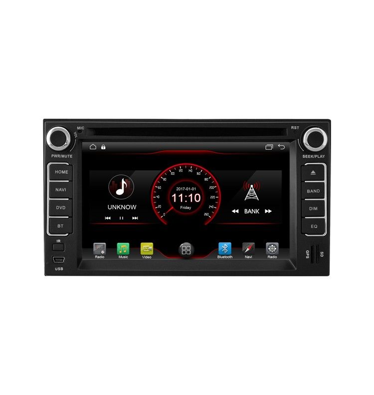 Autoradio Android 10 GPS Kia Rio, Carnival, Cee'd, Picanto, Carens, Sorento, Cerato, Sportage, Magentis