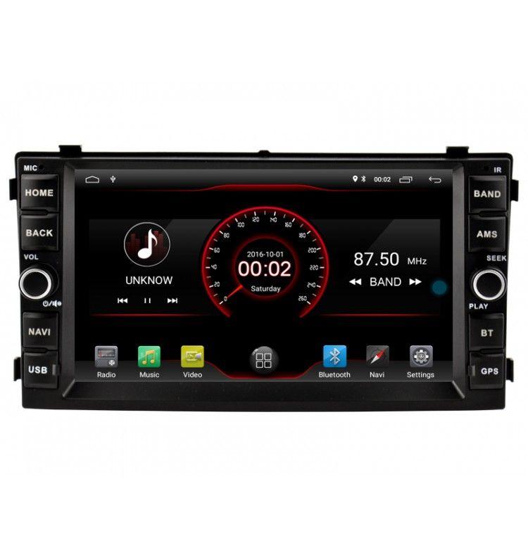 Autoradio Android 10 GPS Kia Cee'd et Venga