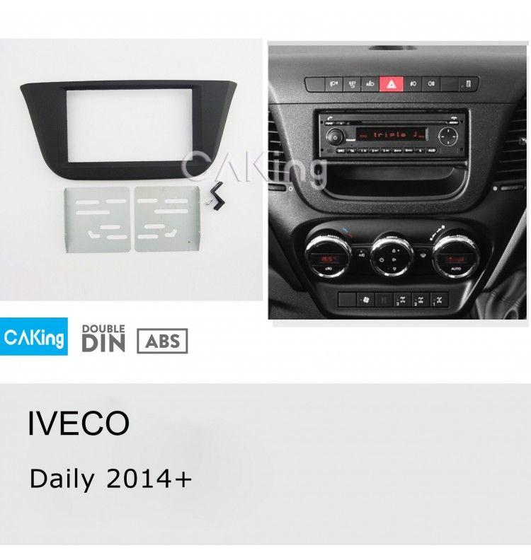 Kit intégration 2 din IVECO depuis 2014