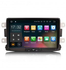 Autoradio GPS Android 9 Dacia Duster, Dokker, Lodgy et Sandero