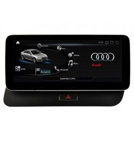 "Autoradio GPS Android 10 Audi Q5 depuis 2009 écran 10.2"""