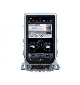 "Autoradio 13.6"" ANDROID Toyota Land Cruiser GX VX de 2007 à 2015 sans GPS d'origine"