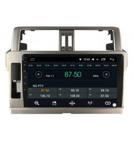 """Autoradio 10.2"""" GPS Android 10 Toyota Land Cruiser Prado 150 de 2014 à 2017"""