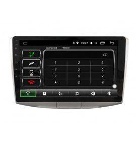 Autoradio écran 10.2 GPS Android 10 Volkswagen Passat B7 et CC.
