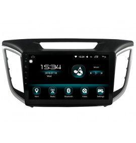"Autoradio 10.2"" GPS Android 10 Hyundai IX25 Creta 2015 à 2017"