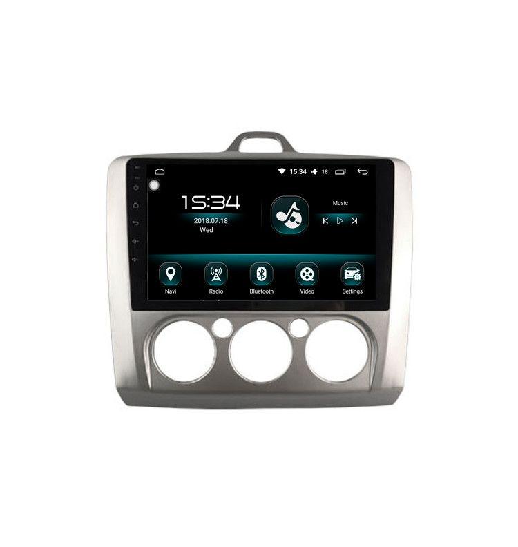"Autoradio écran 9"" GPS G Android 10 Ford Focus clim manuel"