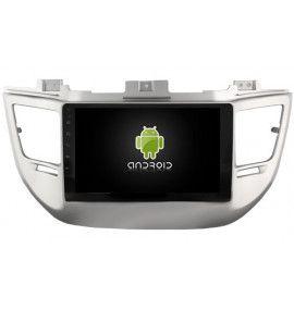 "Autoradio 10.2"" GPS Android 10 intégré Hyundai Tucson IX35 depuis 2016"