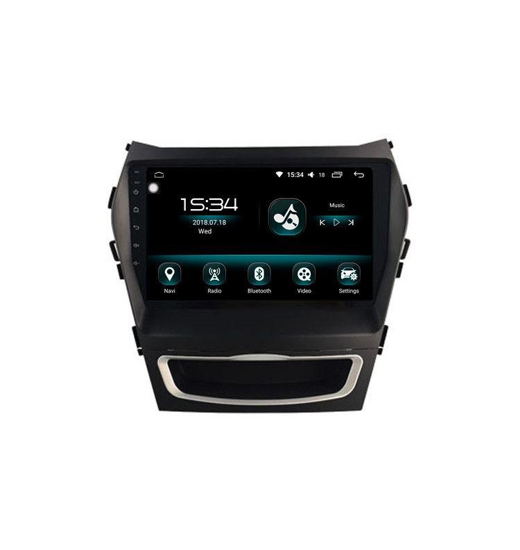 """Autoradio 9"""" GPS Android 10 Hyundai IX45 (Santa Fe)."""