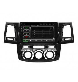 Autoradio ANDROID 10 GPS Toyota Hilux depuis 2012 clim manuel