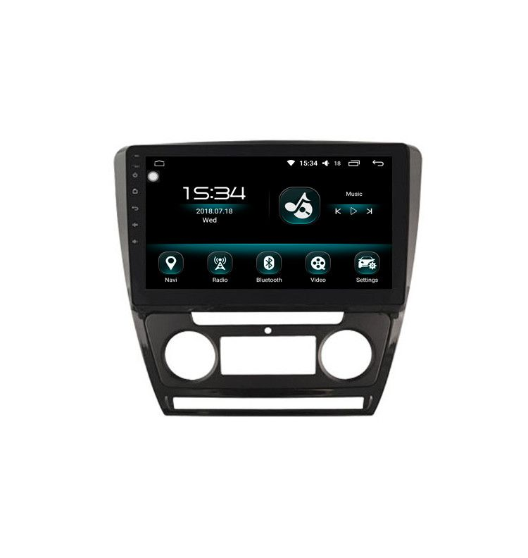 "Autoradio 10.2"" GPS Android 10 Skoda Octavia avant 2013, Yeti clim Auto"