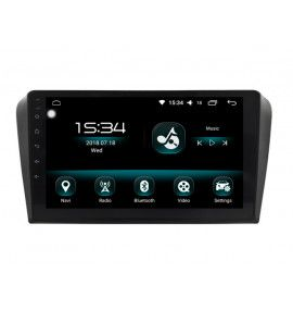 Autoradio GPS Android 10 Mazda 3 de 2010 à 2013