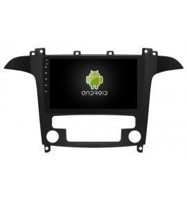 "Autoradio écran 9"" GPS G Android 10 Ford S-Max"